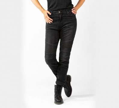 PANTALONES JOHN DOE BETTY BIKER BLACK 4010