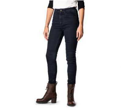 JEANS ROKKER ROKKERTECH HIGH WAIST SLIM DARK BLUE