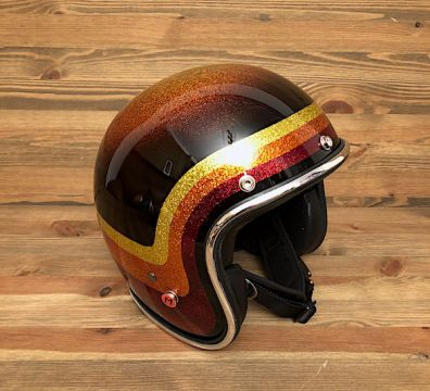 CASCO SEVENTIES VINTAGE ORANGE TONE & BLACK