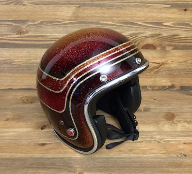 CASCO SEVENTIES VINTAGE DARK RED TONES