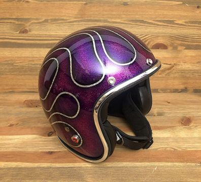 CASCO SEVENTIES FLAMES 14 PURPLE