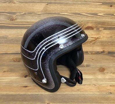 CASCO SEVENTIES VINTAGE 3 BANDS BLACK