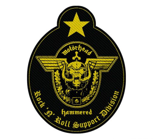 Motörhead Standard Patch Support Division
