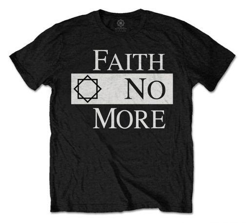 CAMISETA FAITH NO MORE CLASSIC LOGO
