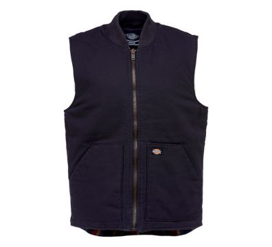 CHALECO DICKIES LAWRENCEBURG CANVAS VEST BLACK