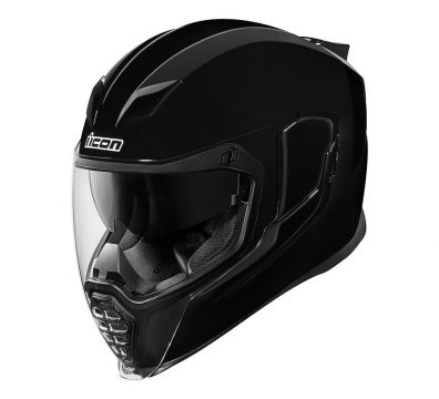 CASCO ICON AIRFLITE GLOSS BLACK