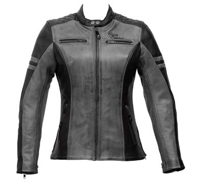 CHAQUETA RUSTY STITCHES JOYCE BLACK GREY