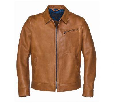 CAZADORA SCHOTT 575 70s Unlined Waxy Cowhide Leather