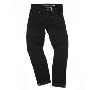 Resurgence Gear® SKINNY Cafe Racer Men's BLACK Selvedge