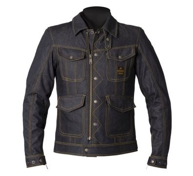 CHAQUETA HELSTONS YARD DENIM BLUE