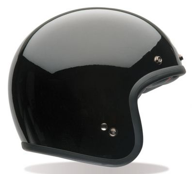 CASCO BELL CUSTOM 500 DLX SOLID GLOSS BLACK