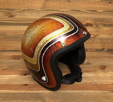 CASCO SEVENTIES VINTAGE 3 BANDS GOLD & ORANGE TONES