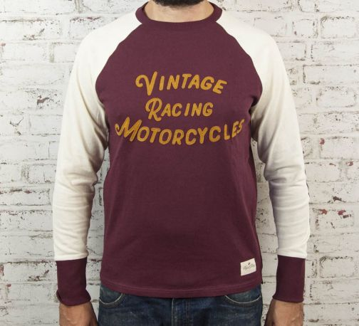CAMISETA AGE OF GLORY Heritage Raglan Burgundy
