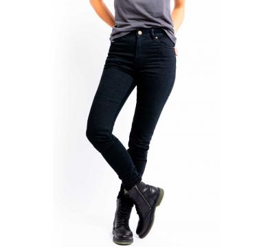 PANTALONES JOHN DOE LUNA HIGH MONO JEANS BLACK USED