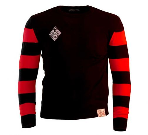 OUTLAW SWEATER FREE BIRD BLACK RED