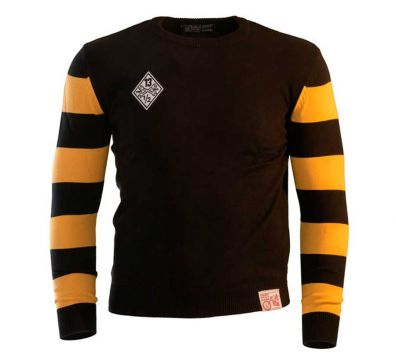 OUTLAW SWEATER FREE BIRD BLACK YELLOW
