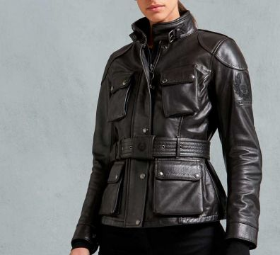 CHAQUETA BELSTAFF TRIALMASTER PRO LEATHER LADY
