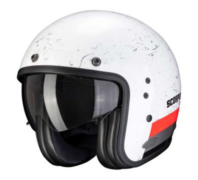 CASCO JET SCORPION BELFAST LUXE WHITE