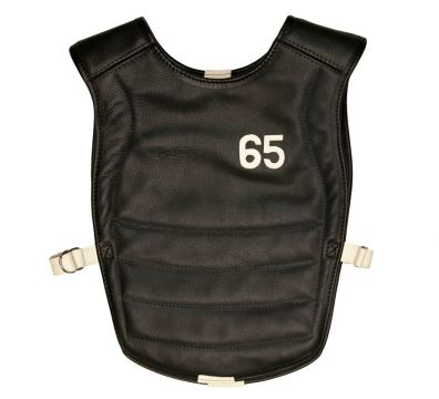 Vintage leather chest protector