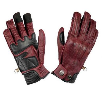 GUANTES BY CITY OXFORD MAN BURGUNDY