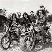 Led Zeppelin, 1972. . . . #ledzeppelin #jimmypage #johnbonham #robertplant #suzuki
