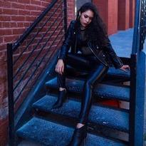 #backinblack ♡ ThankYou @bella_bkny #perfecto #leatherjacket @schottnyc