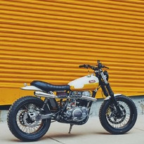 Yamaha SR500 #scrambler