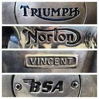 #triumph #norton #vincent #bsamotorcycle