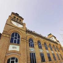 La Fábrica de Chocolate #orus #artnouveau #modernismo #renacimientoaragones #arquitecturaindustrial #zaragoza @hotelhorus