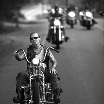 Indian Larry . . . #indianlarry #chopper #nyc
